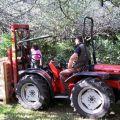 La récolte s'annonce excellente au Domaine du Kinkiz