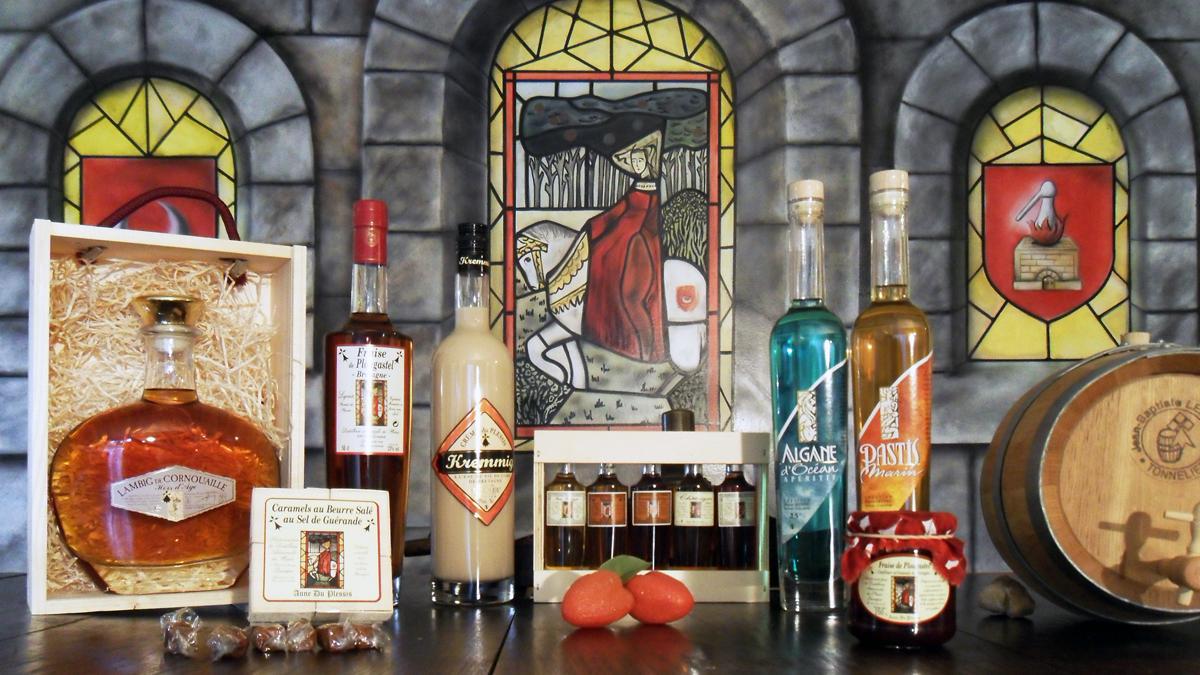 Présentaiton produits Distillerie du Plessis